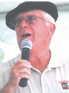 On July 7, during the National Basque Fetival in Elko, Eureka resident Jim Ithurralde was awarded the Bizi Emakorra, or lifetime achievement award.
