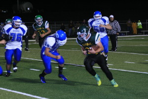 Looking for their first win of the young season, the Eureka High School football team played its most complete game of the year on Friday night when Smith Valley came to town.