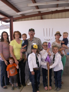 The University of Nevada Cooperative Extension, in cooperation with other supporters, sponsored the Eureka County Fair Hay Contest Aug. 9
