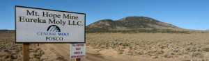 The Mt. Hope mine outside Eureka is basically on life support after the Colorado company developing it formally terminated its agreement with the mine's Chinese backers.
