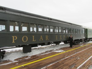 The Nevada Northern Railway began its trips to the North Pole last Saturday as the NNRy's Polar Express trains began. The trains, which run