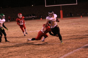 The season came to an end Nov. 1 for the Eureka County High football team, but the Vandals went out fighting.