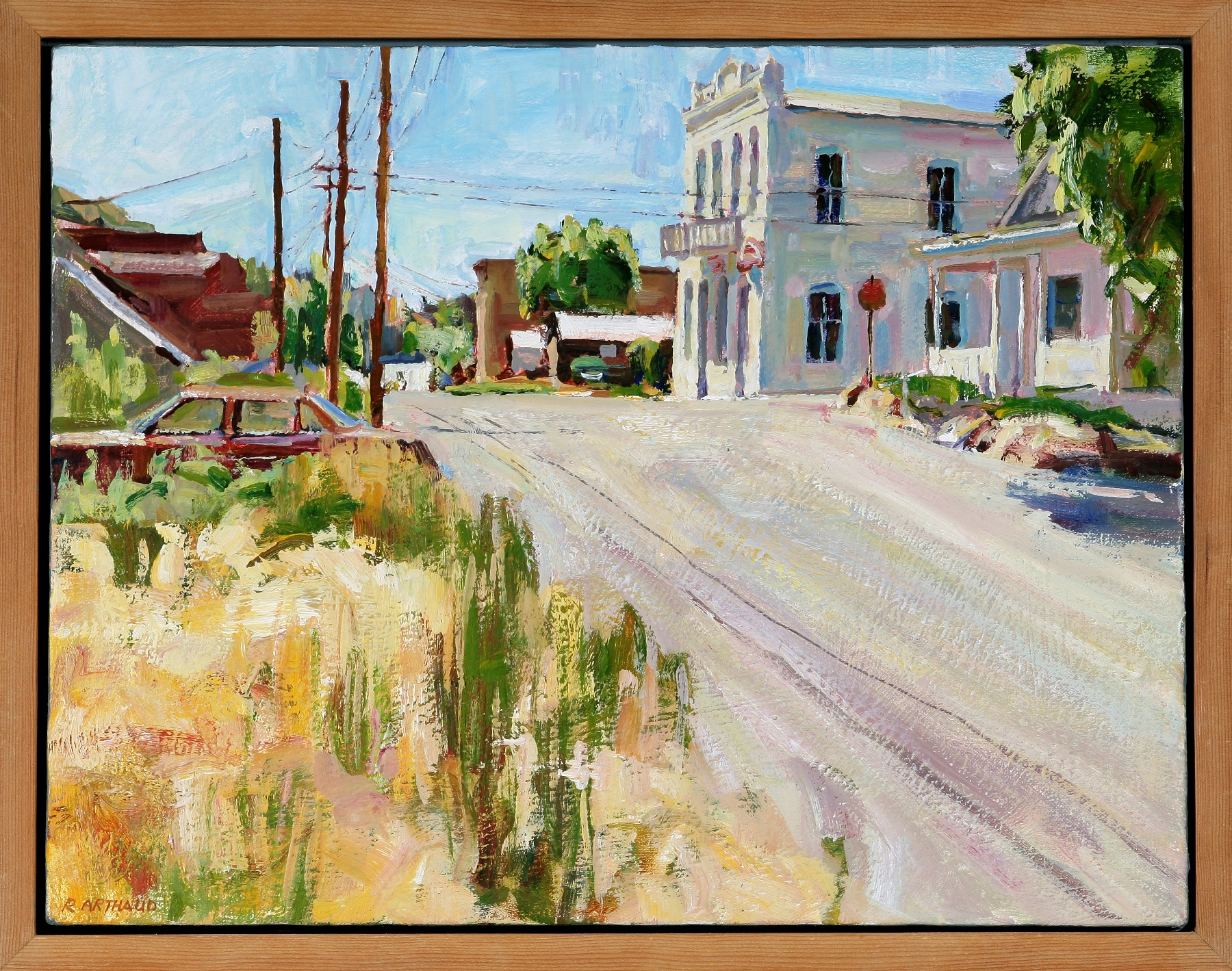 Local art collector puts collection on the road