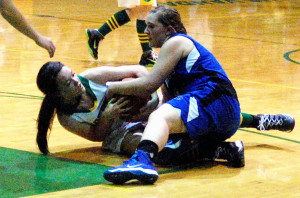 The Eureka County High girls basketball team avenged its only loss of the season last week, coming from behind late to beat Pahranagat Valley High at home.