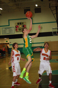 The season came to an end for the Eureka County High boys basketball team last week, as the Vandals fell to Whittell 71-27 in the quarterfinals of the NIAA