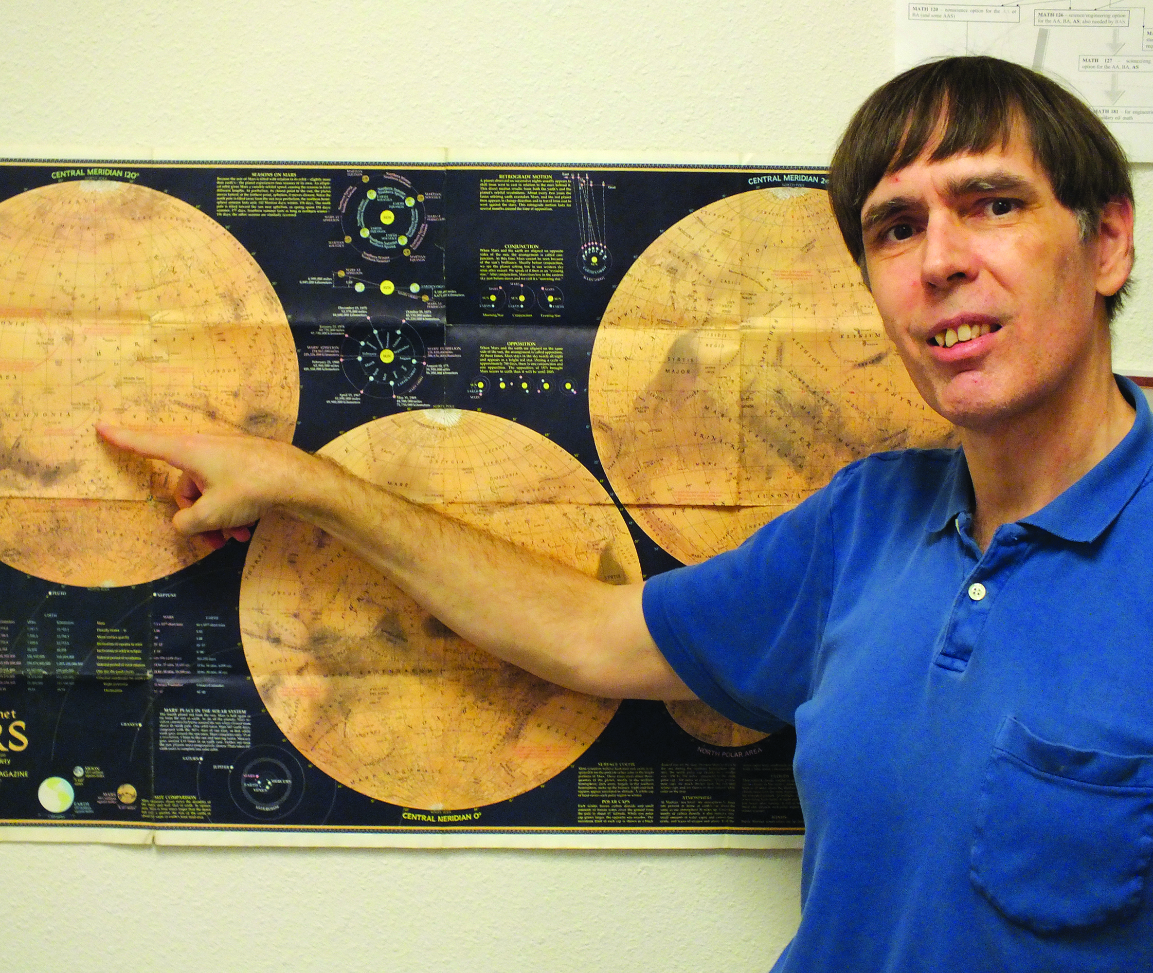 Ely professor in running for Mars mission
