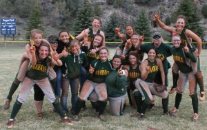 The NIAA division IV regional softball tournament didn't start out the way the Eureka County High softball team would have hoped for, but when