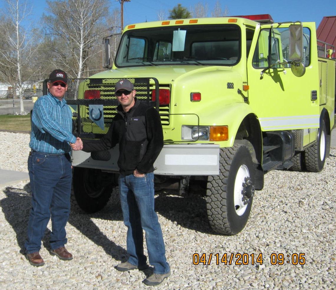 BLM transfers fire engine to Eureka