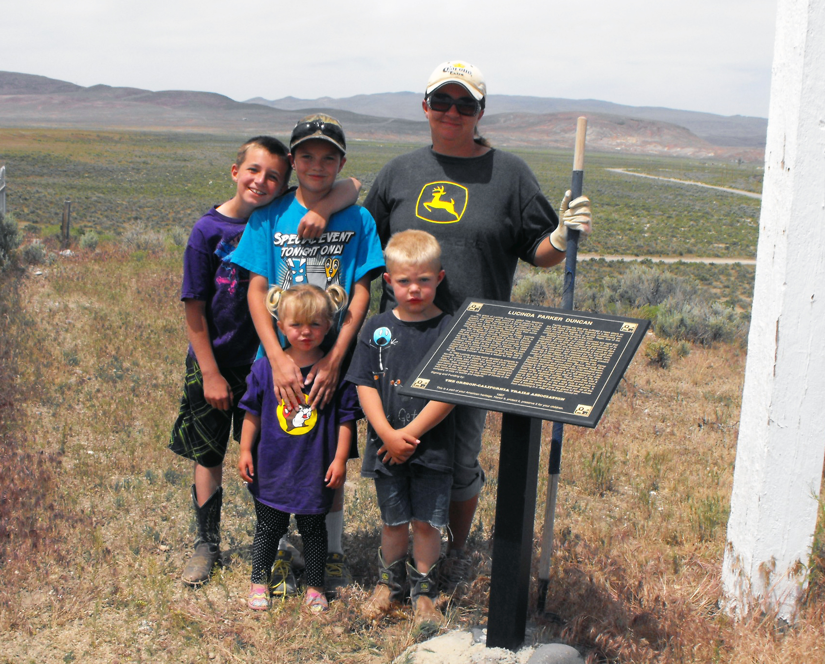 Crescent Valley family restores historic cemetery