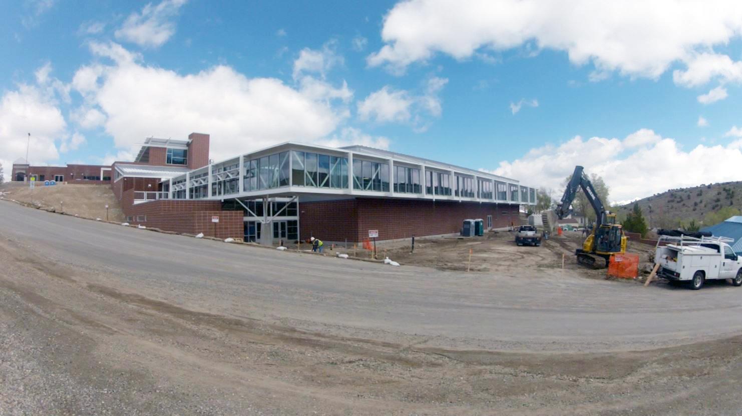 New Eureka County High gym set to open
