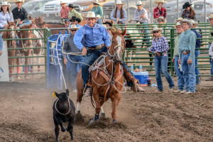 One of the three riders from the Eureka High School Rodeo Club will advance to the National High School Rodeo finals after a strong showing
