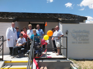 The Sanderling Dialysis Center held its grand opening on Monday, bringing the life-sustaining treatment much closer to local patients than before