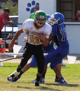 The Eureka County High football team has had two consecutive weekend road trips that lasted six and five hours each way respectively.