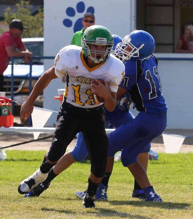 Eureka County High football team wins second straight