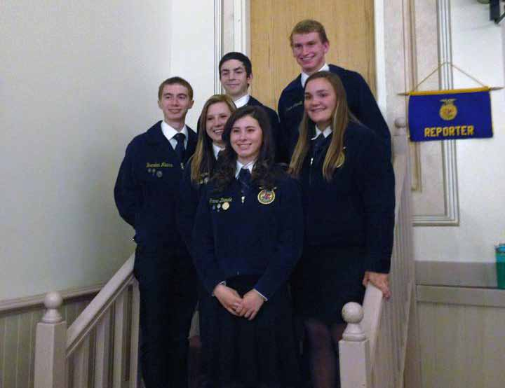 Local FFA chapter hosts banquet