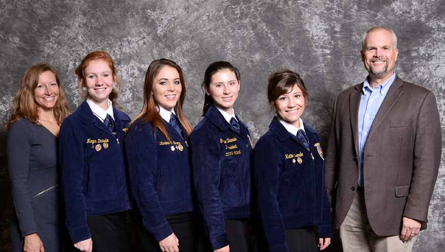 Local FFA chapter competes in national event