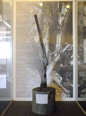 Great Basin National Park displays 133-year-old rifle