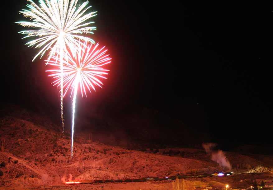 Nevada Northern Railway's Fireworks Express a display unlike any other