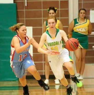 Eureka girls return home to win 2 league games