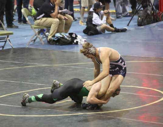 Gibbs off to strong start for Eureka wrestling team