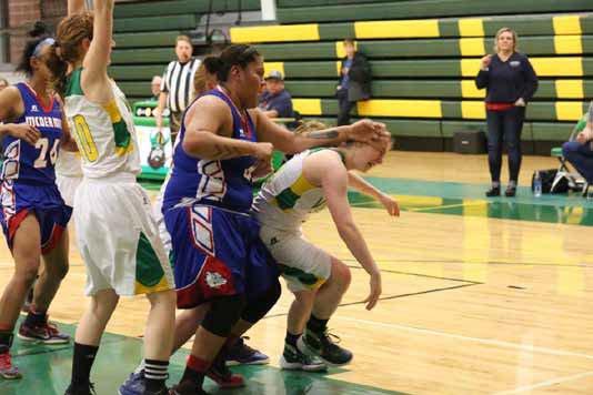 Eureka girls come up short against McDermitt