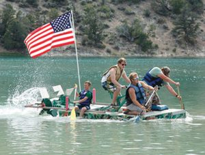 Courtesy photo - The Great Bathtub Races will be held at Cave Lake State Park on Saturday.