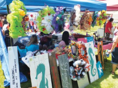 Courtesy photo It's that time of year again in Ely as the 32nd annual Arts in the Park event will take place on Aug. 6-7. Vendors will be coming from different areas of the western United States. Come experience the great arts, crafts, food and entertainment. Hours of the event are 10 a.m. to 6 p.m. on Aug. 6 and 10 a.m. to 4 p.m. the next day.