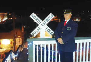 Courtesy photos The Polar Express train will run from Ely to the North Pole beginning Saturday.