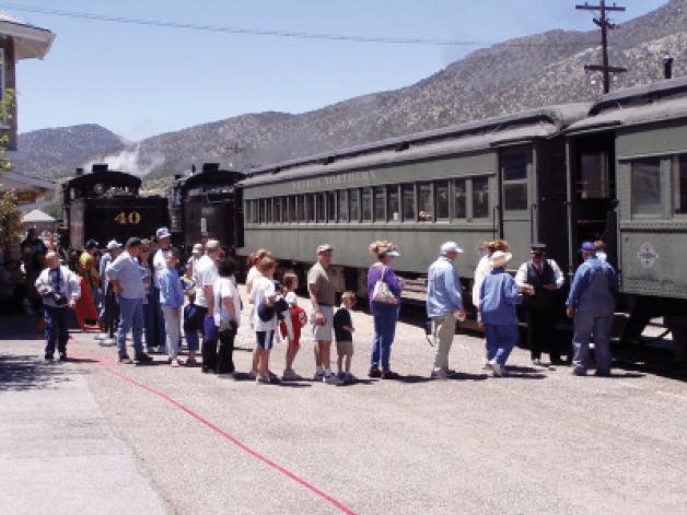 Nevada Northern Railway Reaches Milestone
