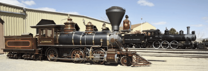The Locomotive 'Glenbrook'