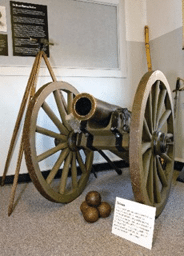 John C. Fremont's original cannon