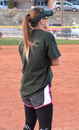 Softball team resumed play last weekend