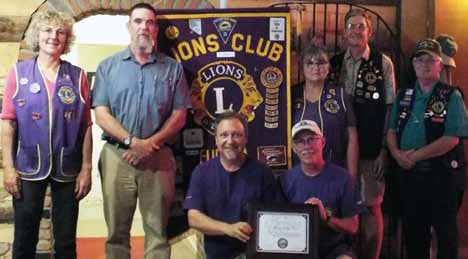 Eureka Lions Club Honored