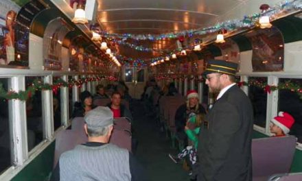 Polar Express Train Rides Underway in Ely