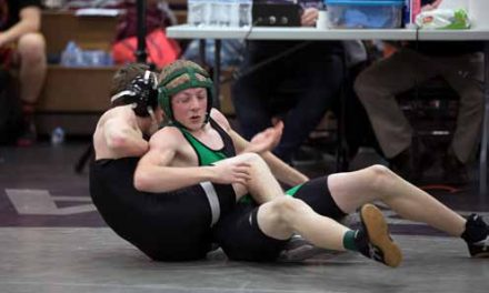 Wrestlers Compete in Spring Creek