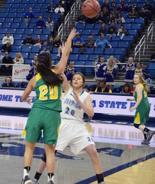 Lady Vandals Fall in State Semifinals