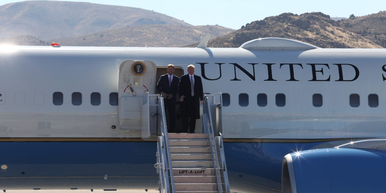 Trump Calls Democrats an 'Unhinged Mob'; Urges Voters to Elect Laxalt and Heller