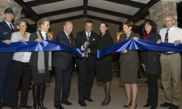 Ceremony Marks Completion of State Veterans Home