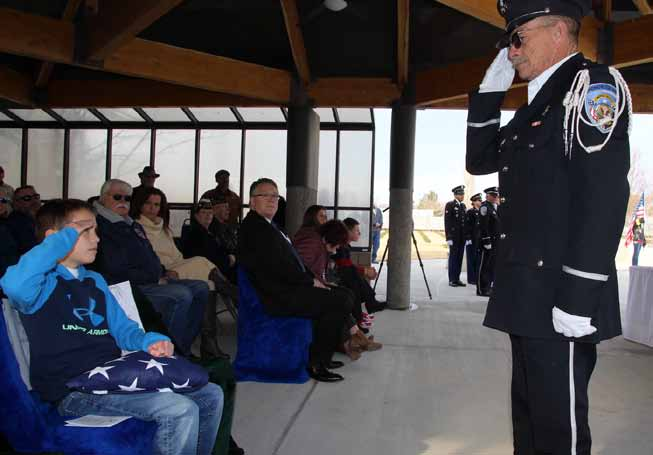 Coalition honors 19 veterans in solemn memorial ceremony
