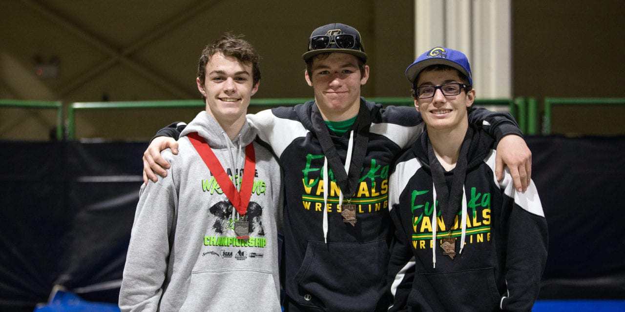 Three Vandals medal at state