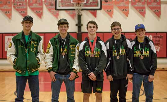 Vandals sending 5 to state tourney