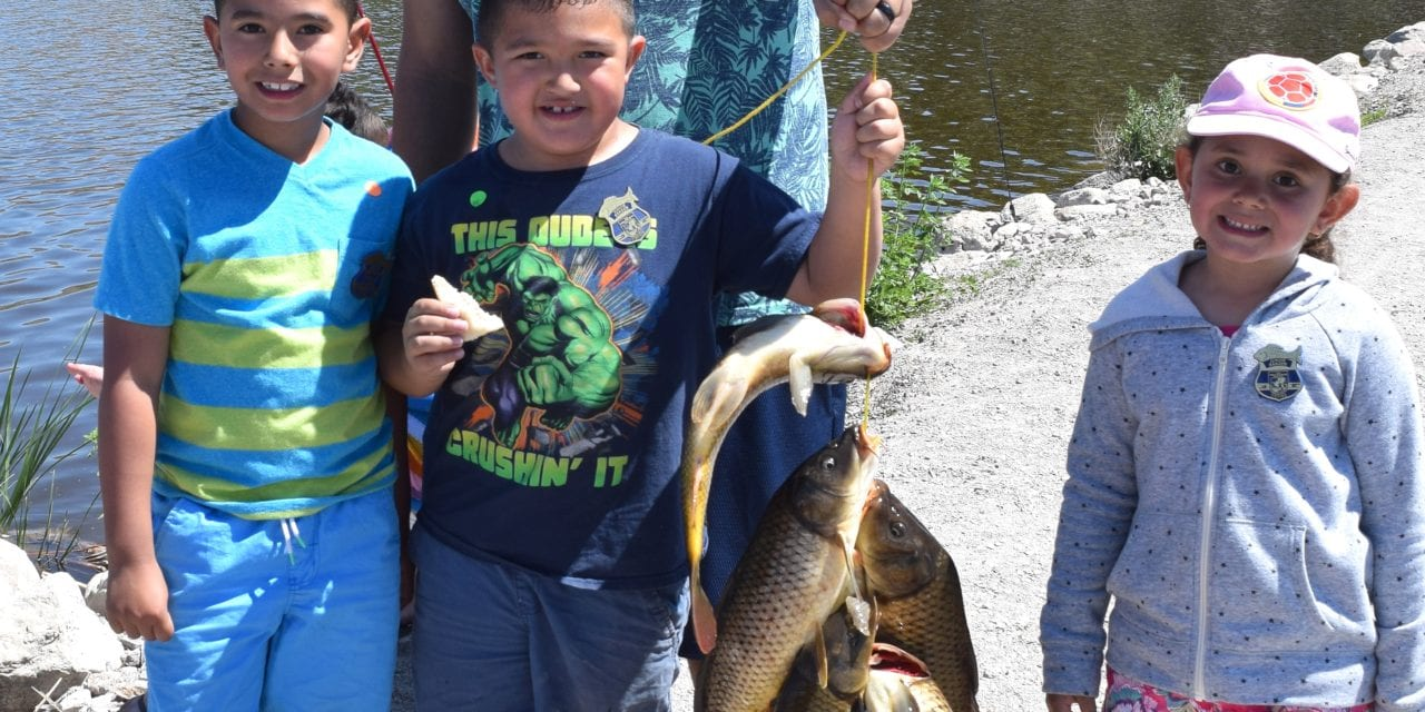 Fishing enthusiasts flock to wildlife refuge for annual Carp Rodeo