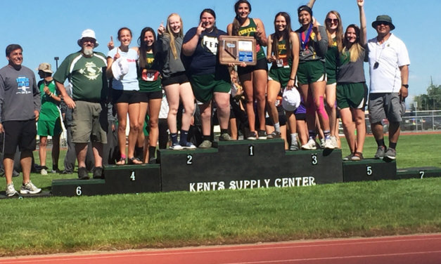 Eureka girls capture team title at regional meet