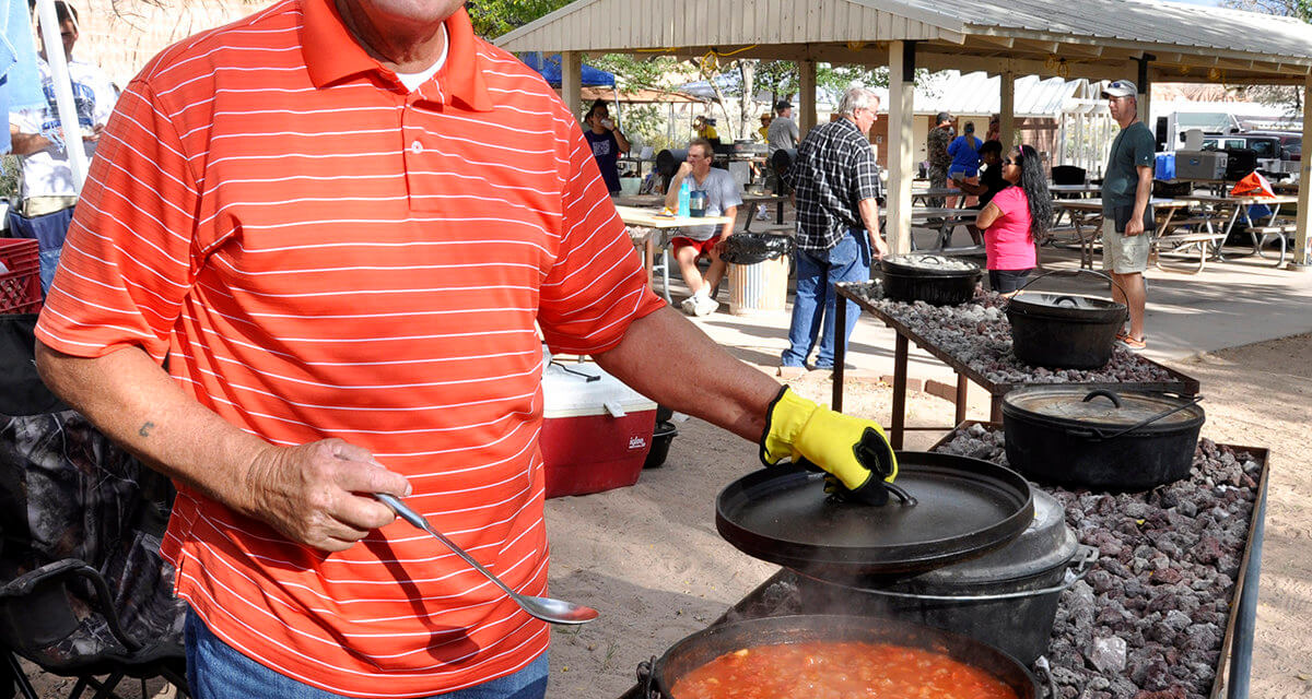 Dutch Oven Cook-Off on Tap at Cathedral Gorge State Park