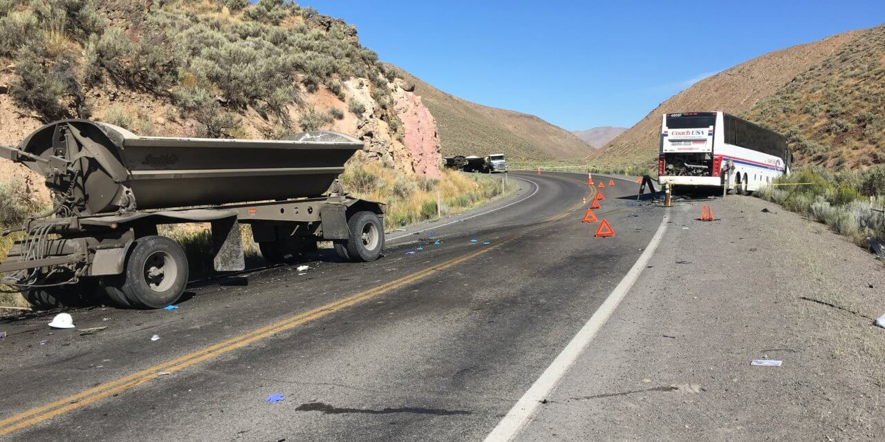Authorities: 2 killed, Others Hurt in Mine Bus Crash