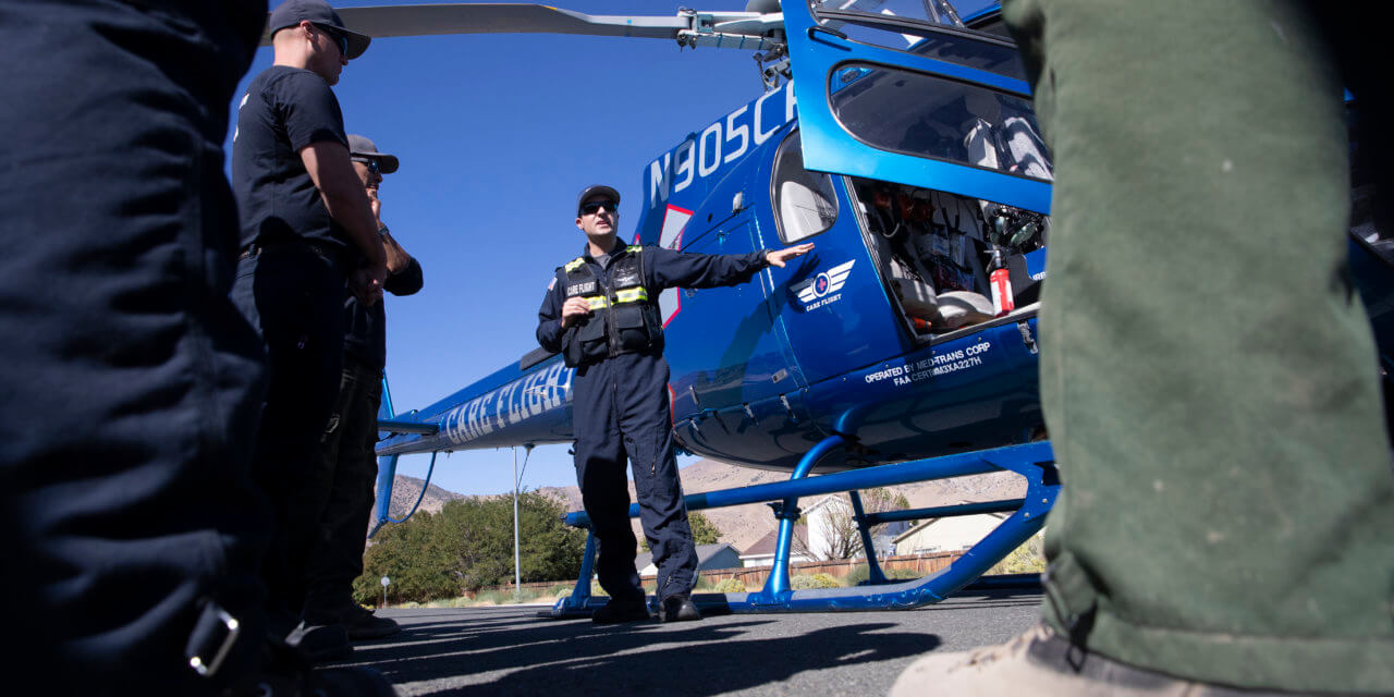 Between life and death, patients left with little choice on air ambulance costs in rural Nevada