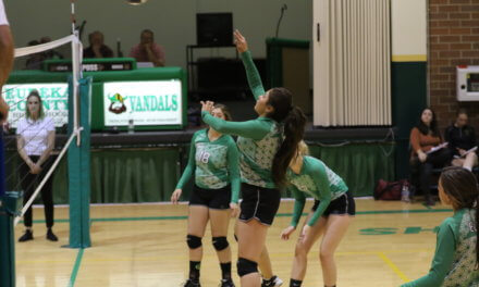 Vandal Girls Improving on the Volleyball Court