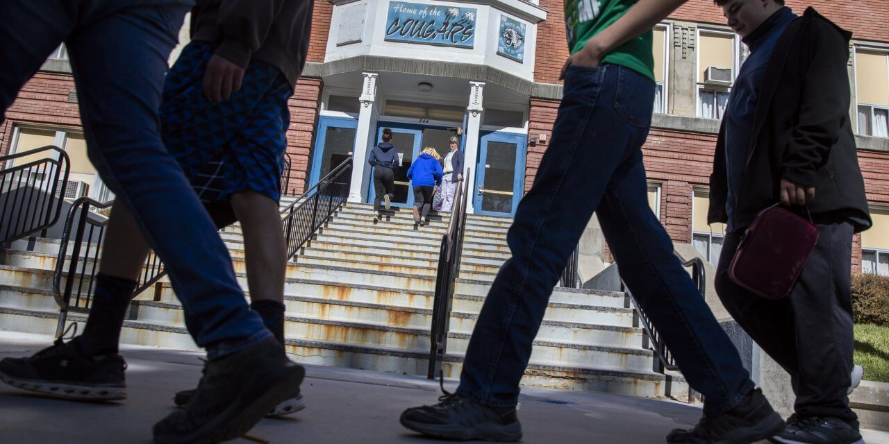 A Building Dilemma: Money Hampers a Rural District's Desire to Retire Century-Old Schools
